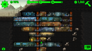 A vault in progress!