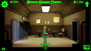 Rooms like the class room help improve dweller's stats.